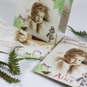 2 ans Alice, alice au pays des merveilles, nature, vintage, spiritus naturae, 4