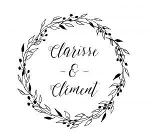 Clarisse & Clément tampon 1
