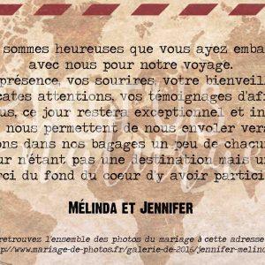 Melinda & Jennifer remerciement 1-2