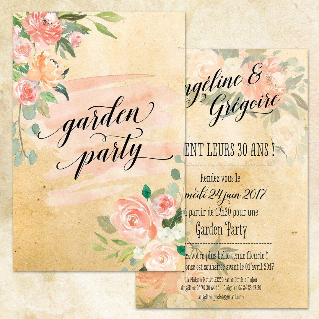 Invitation – GARDEN PARTY – – Spiritus Naturae