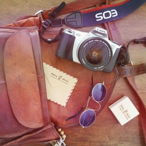 tampon mariage, style voyage vintage