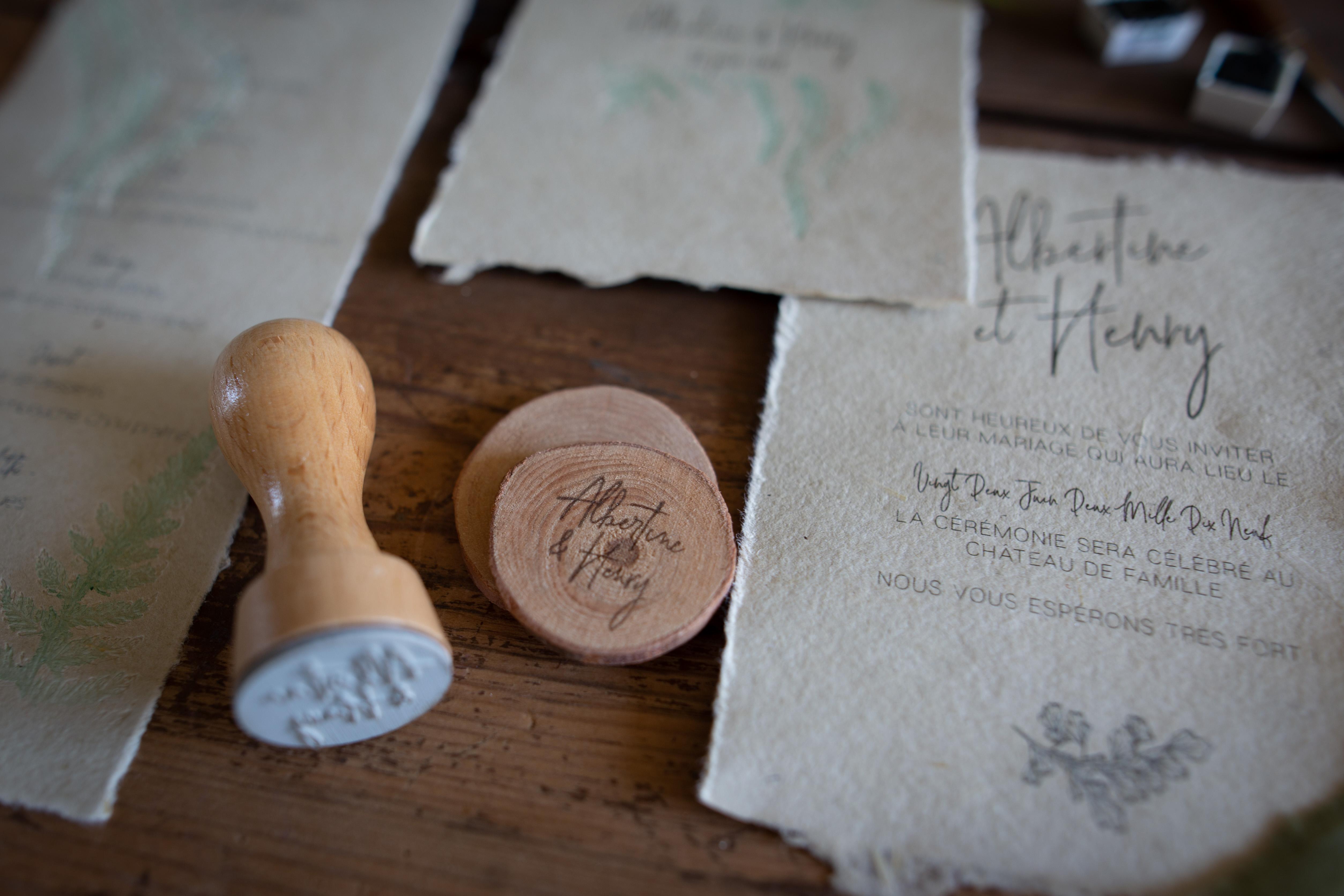 Collection fougère, faire-part, save the date, invitation, tampon, spiritus naturae-3